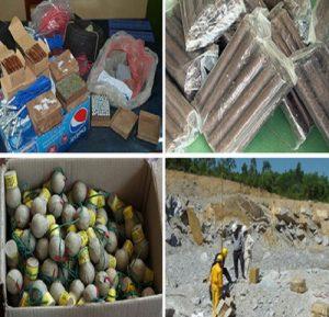 Vi phạm trong sản xuất vật liệu nổ có thể bị phạt tới 200 triệu đồng
