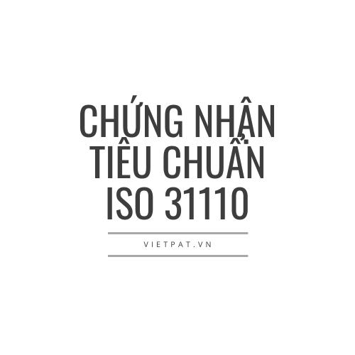 chung nhan iso 31110